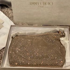 NWT:Jimmy Choo Callie Diamond CrystalHotfix Clutch